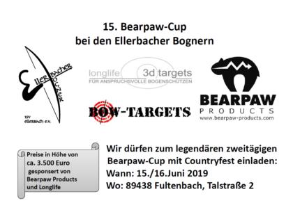 Einladung zum Bearpaw-Cup 2019: